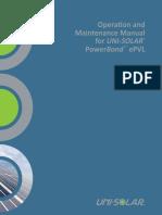 PV O&M activities manual.pdf
