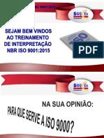 Interpretação Iso 9001-2015