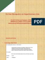 On line theraputics on Hypertensive crisis - Copy.pptx