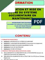 Elaboration Et Mise en Oeuvre d'Une Base de Donnees Industrielle