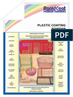 LDPE Plastic coating for metal