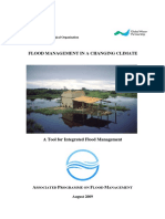 Flood Management in a Changing Climate Apfm Wmogwp 2009