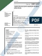 Nbr 12212 - Projeto De Pocos Para Captacao De Aguas Subterraneas.pdf