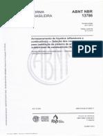 NBR 13786 - 2014 Seleção de Equipamentos e Sistemas Para Instalacões Subterraneas de Combustiveis