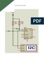 Montage de circuit DS1307 avec le bus I2C sous proteus8.docx