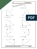 Trigonometria - Sen y Cos - 6to