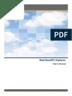 MatrikonOPC Explorer User Manual