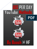 30 Subs a Day YouTube Methods by Boosh