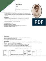Laurus Adia -Proiect de Lecție
