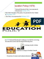 Edu plans and policies  of Pakistan