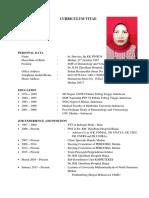 Curriculum Vitae Dr. Hervina, Sp.kk FINSDV