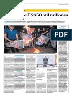 La Paz Vale 50 Mil Millones de Dólares