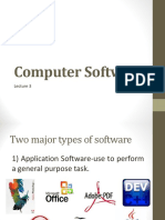 LECTURE 3-Computer Software and Data Processing