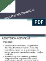 RESISTENCIAS DINAMICAS