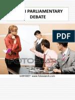 Asian Parliamentary Debate 2019