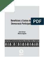 Beneficios y Costos de La Democracia Participativa
