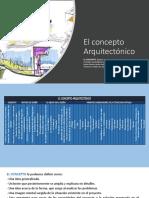 El Concepto Arquitectónico
