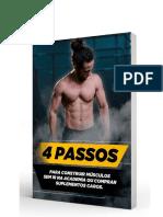 4 Passos Para Construir Músculos
