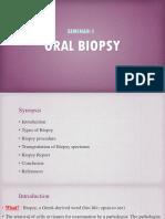 1) Biopsy
