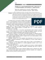 Rolul Kinetoterapiei Si Al Electromiostimularii Corective in Recuperarea Si Reintegrarea Functionala a Amputatilor