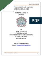Copy of Basic Web Design Lab Manual