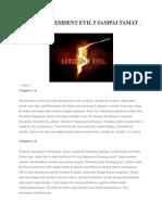 Tips Bermain Resident Evil 5 Sampai