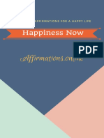Happiness Now 60 Positive Affirmations for a Happy Life (1)