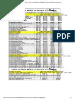 Tabela de Preços Para Eletricistas 2019 Engehall _ Equipamento Elétrico _ Segurança.pdf