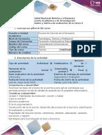 Guía de Actividades y Rúbrica de Evaluación - Ciclo de La Tarea - Tarea 3