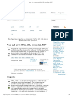 HTML - Pra o Quê Serve HTML, CSS, JavaScript, PHP