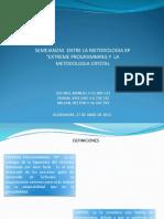 Metodologias Xp y Crystal