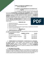 Acta No 3 de 2018 Reforma Estatutos y Representante Legal Inversiones