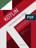 Kotlin for Android Developers Sample