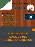Bioética Diapositivas Grupal Derecho Genetico