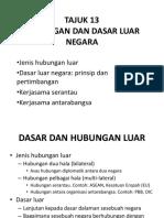 SJHK3023 Malaysia Dan Hubungan Antarabangsa_Kuatkuasa Jun 20