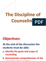 The Discipline of Counseling Ppt.