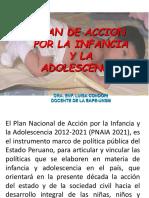Plan de Acción Por La Infancia y La Adolescencia