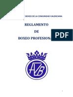 Reglamento de Boxeo Profesional