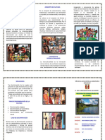 Triptico 2 - Interculturalidad en El Perú 27.05.2019