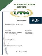 Microeconomia II PArcial Tarea #1 Grupo 0005