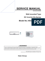 Haier Forward Series Service Manual HSU09VHJ
