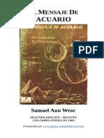 1959 Samael Aun Weor El Mensaje de Acuario