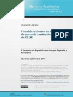 Materiales auténticos en la enseñanza del español