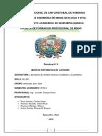 Informe de Laboratio Nº 4--ING  DE MINAS -UNSCH