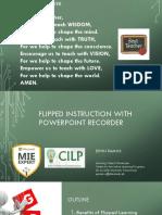The Flipped Classroom  2019v2