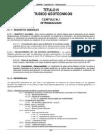 Estudios Geotecnicos Norma Tecnica Colombia