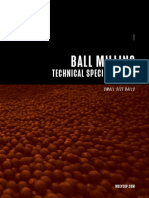 Molycop Tech Sheet Small Size Balls