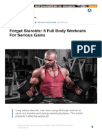 5 Full Body Workouts for Serious Gains
