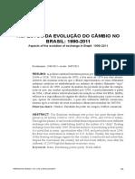 ASPECTOS DA EVOLUÇÃO DO CÂMBIO NO BRASIL