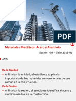 MC Sesión 09 - 2019-1 Materiales Metálicos(1)